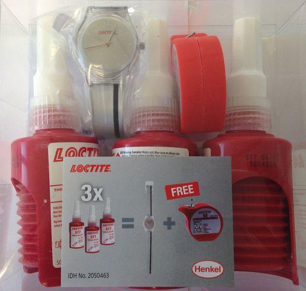 احصل على عينة مجانية من منتج LOCTITE 55 حتى باب منزلك