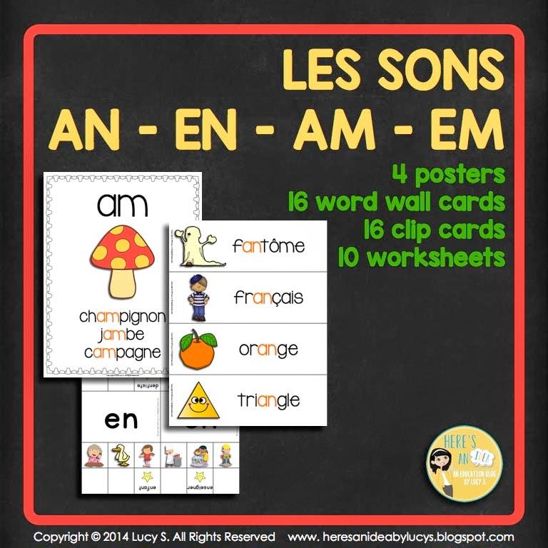 Les Sons An-En-Am-Em