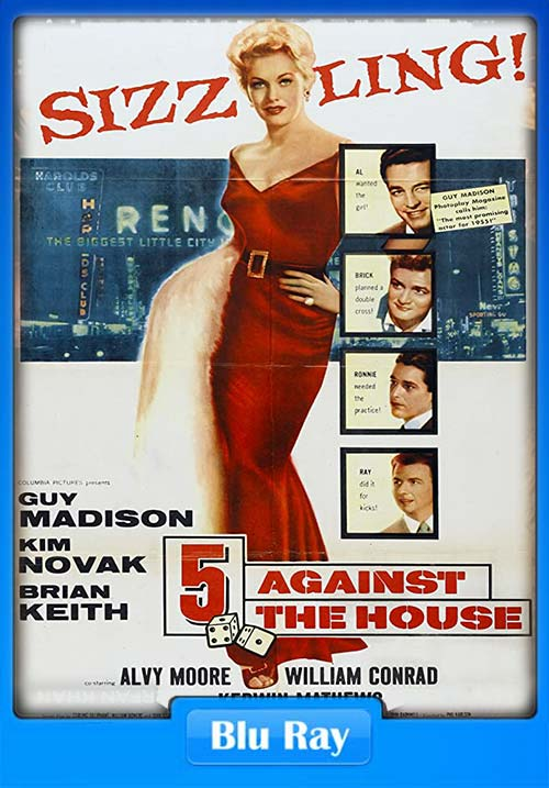 5 Against the House 1955 720p BluRay x264 | 480p 300MB | 100MB HEVC