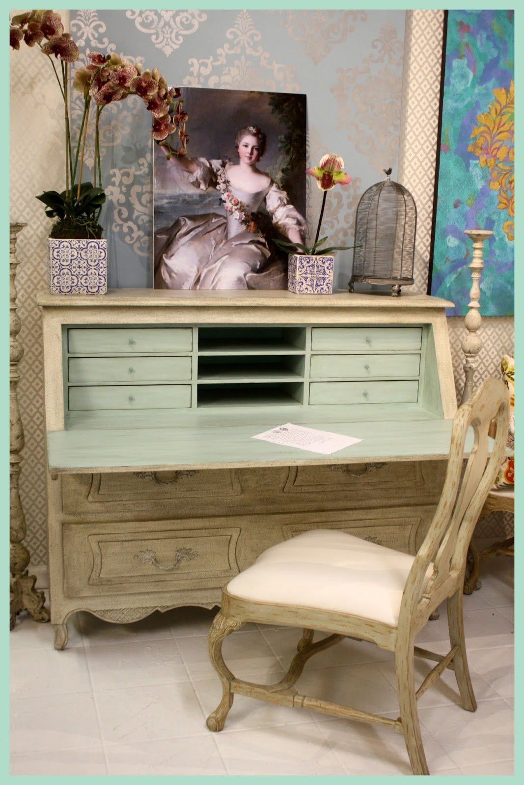 Swedish Secretary Desk from Swede Collection - found on Hello Lovely Studio