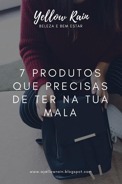 7 Produtos Que Precisas De Ter Na Tua Mala