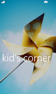 Windows Phone 8 - Kid's Corner