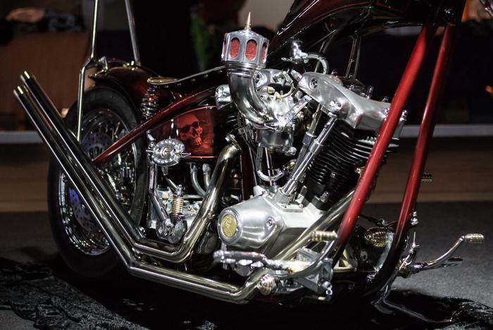 moottori chopper harley davidson mp-messut