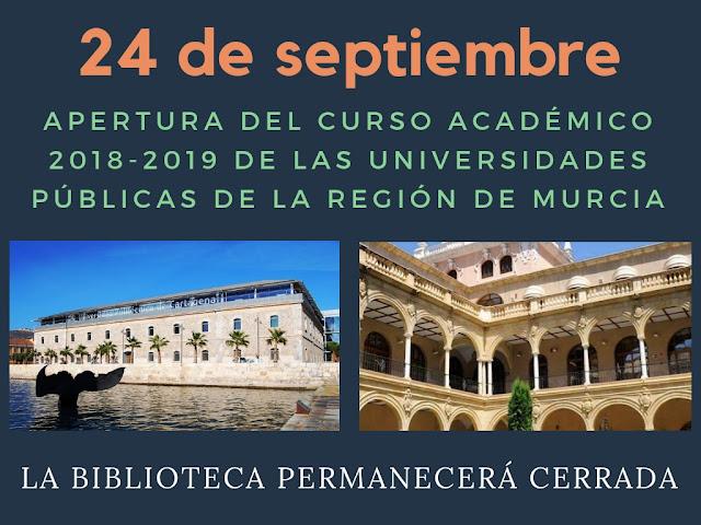 Día oficial de apertura del curso 2018/2019