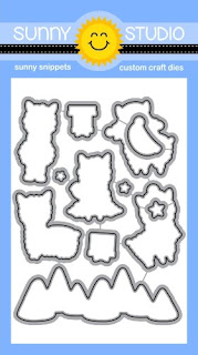 Sunny Studio Stamps: Alpaca Holiday Coordinating Low Profile Metal Cutting Dies