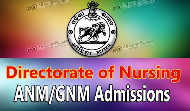 General Nurses & Midwifery (GNM) 2017-18 (Complete Process, Eligibility, etc), Directorate of Nursing invites online application for the Admission into 2 year General Nurses & Midwifery (GNM)/ H.W. (F) -- Courses in Odisha During the session 2017-18 in the Government and Private Nursing Training Institute recognized by National Nursing Council (NIC).