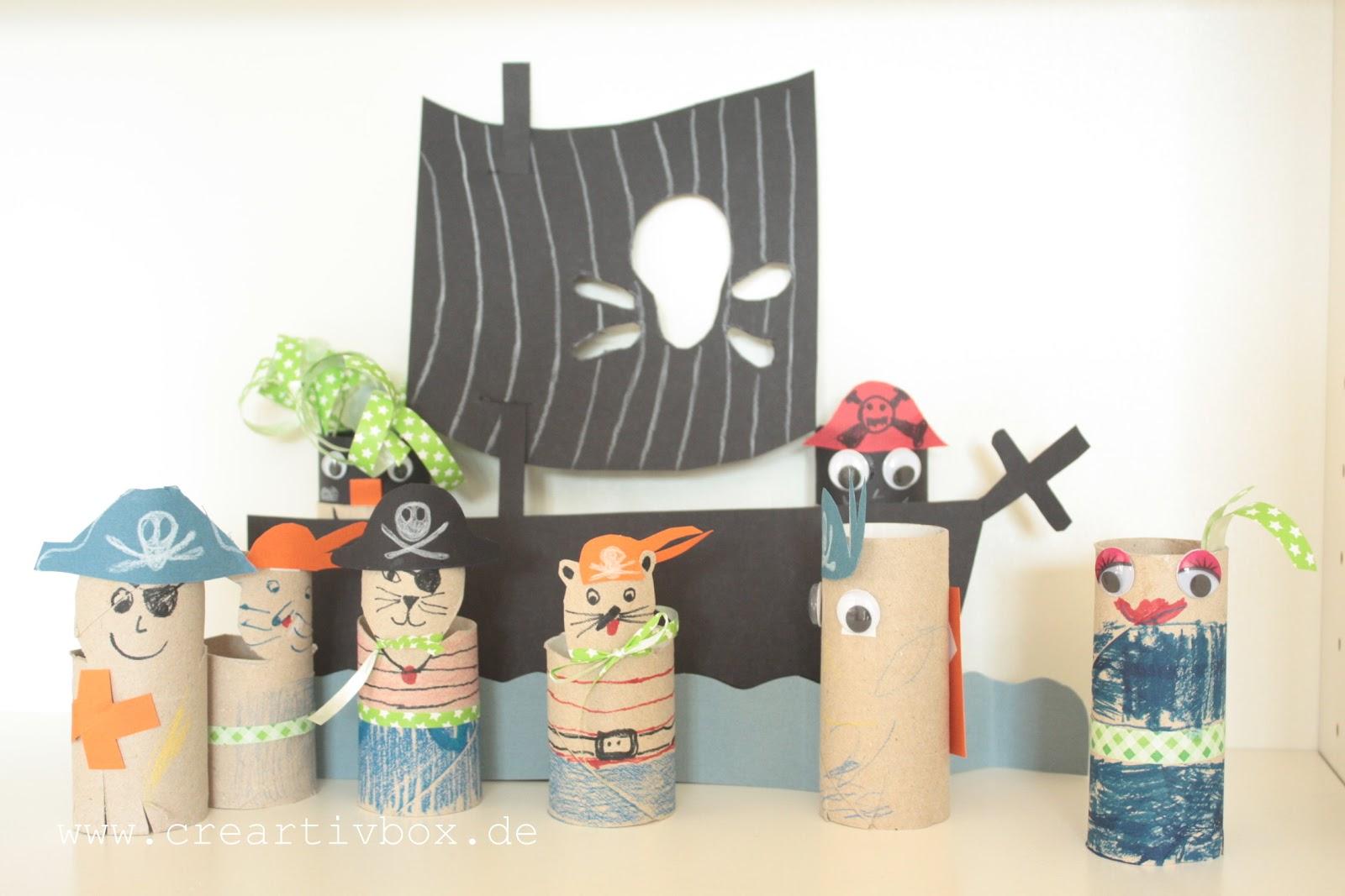 Piraten Kindergarten Basteln Dansenfeesten