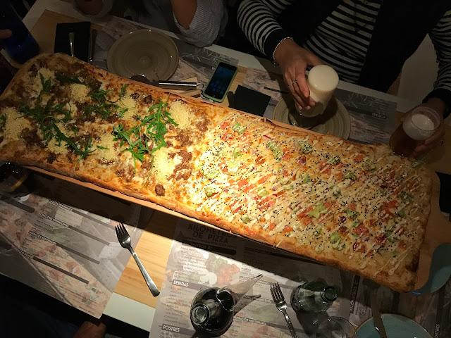 Pizza 1 metro