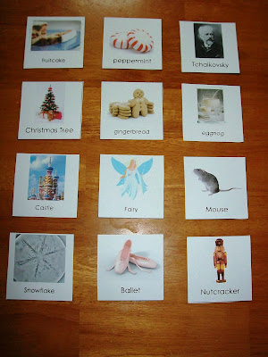 Nutcracker nomenclature cards