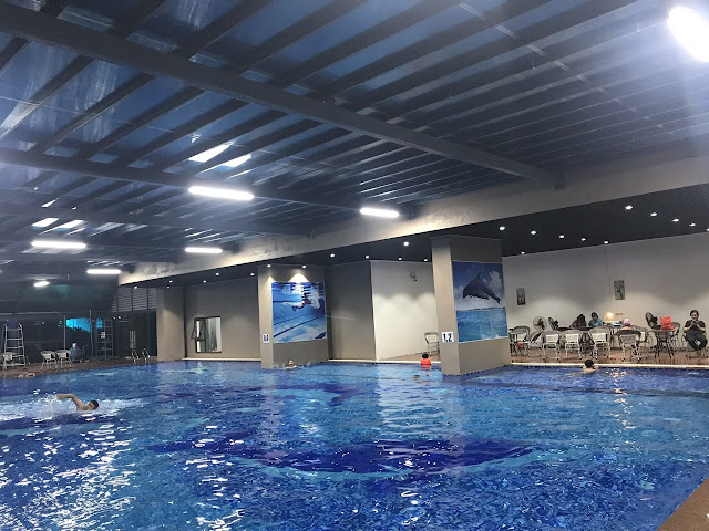 Bể bơi bốn mùa tại dự án