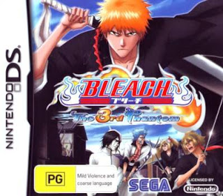 Bleach The 3rd Phantom, nds, español, mega