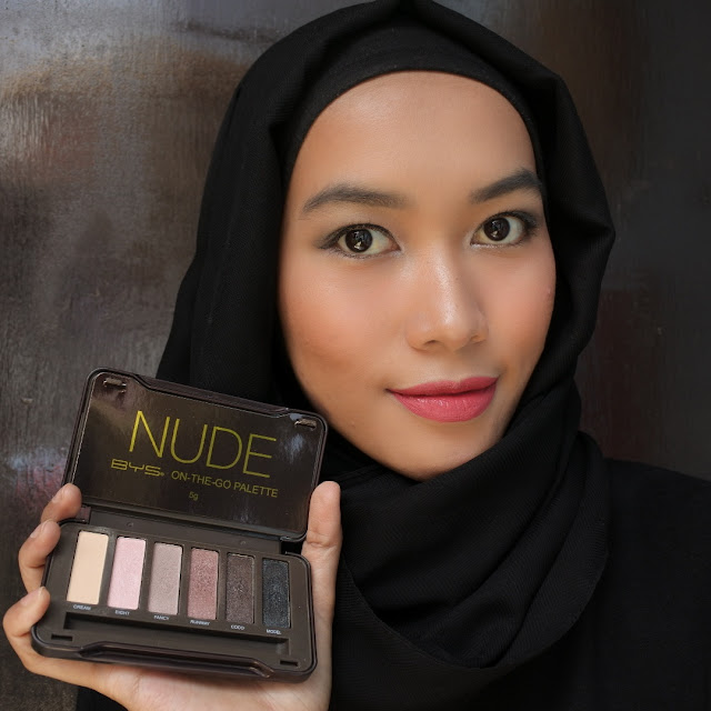 Review BYS On The Go Palette - NUDE Eyeshadow