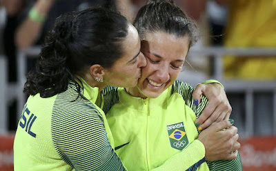 Após a prata no Rio, Àgatha e Bárbara desfazem parceria