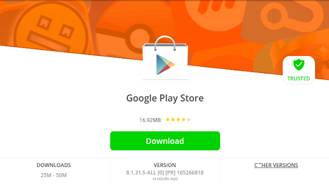 Google Play Store v8.1.31 APK Update To Download : Supported for All Android 4+ Devices