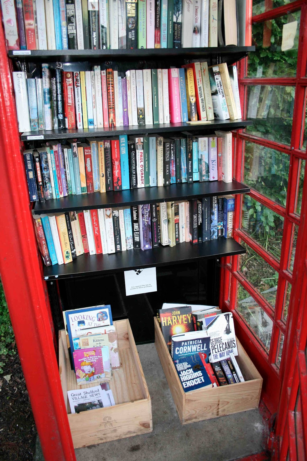 Literacy, families and learning: Library in a Telephone Box: British