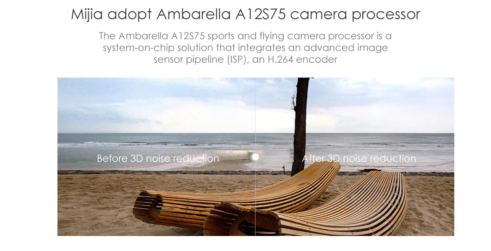 Belle Promo Cam 233 Ra D Action Xiaomi Mijia 4k Version