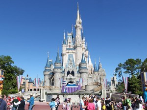 Magic Kingdom Castillo. Ahorrar en los Parques Disney