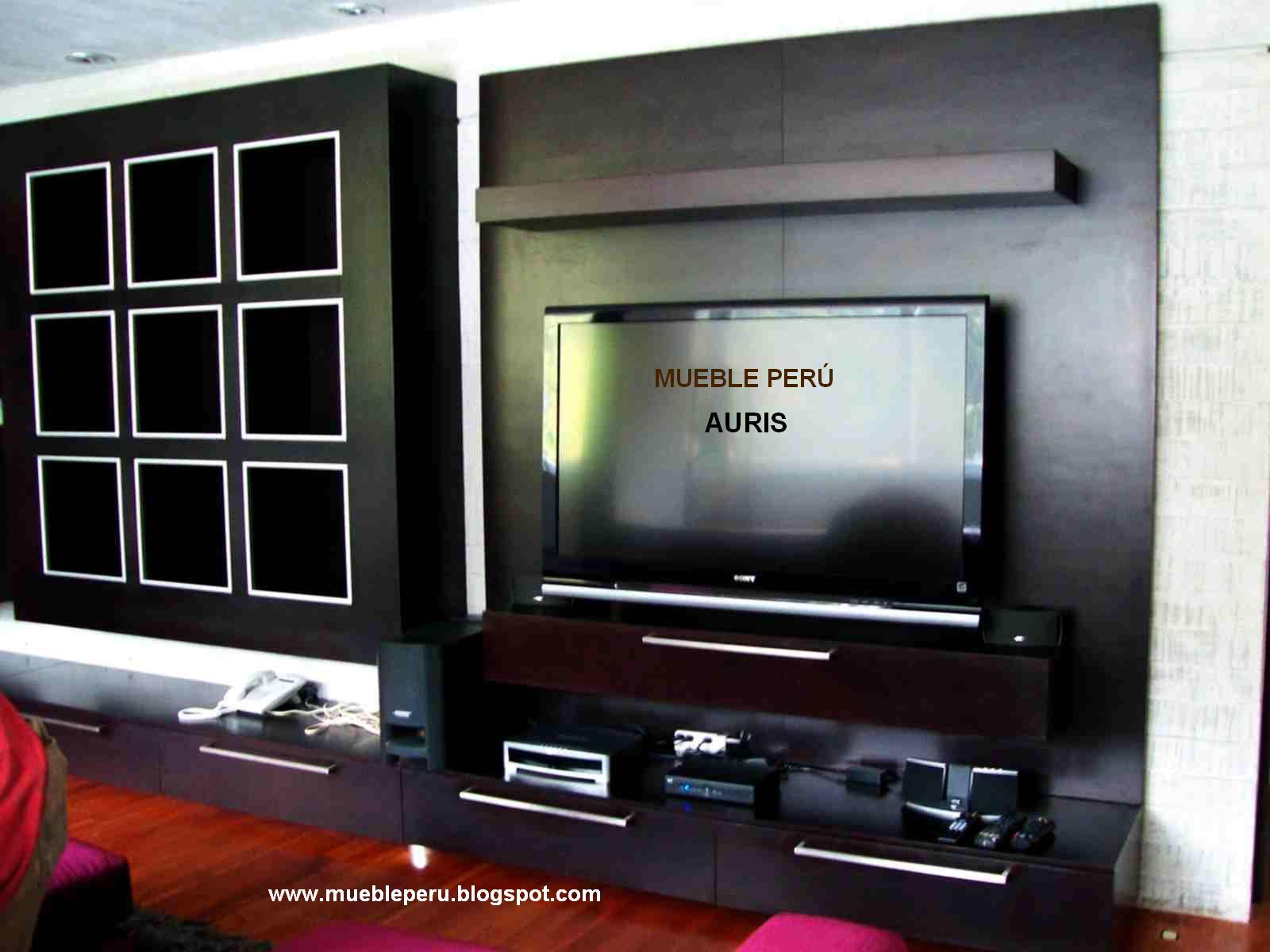 Muebles tv modernos centros de entretenimiento tv for Diseno de muebles para tv modernos
