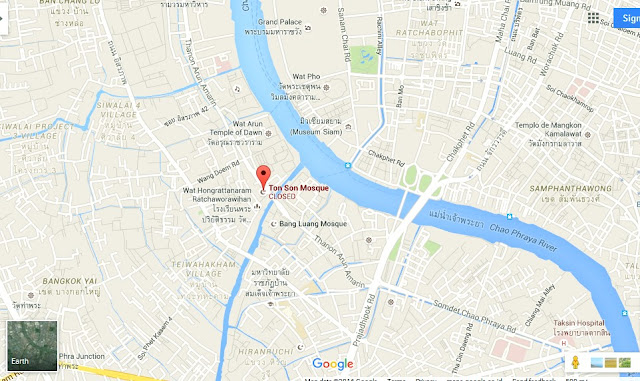 Ton Son Mosque Bangkok Map,Map of Ton Son Mosque Bangkok,Tourist Attractions in Bangkok Thailand,Things to do in Bangkok Thailand,Ton Son Mosque Bangkok accommodation destinations attractions hotels map reviews photos pictures