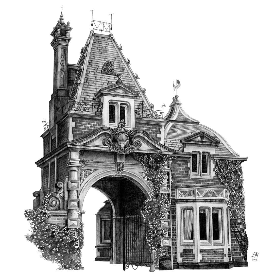 05-House-Elizabeth-Detailed-Pencil-Architectural-Drawings-www-designstack-co