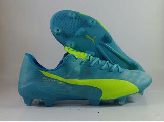 Puma Evospeed SL FG biru Sepatu Bola , Harga Puma evospeed, evospeed sl, puma terbaru, puma sepak bola