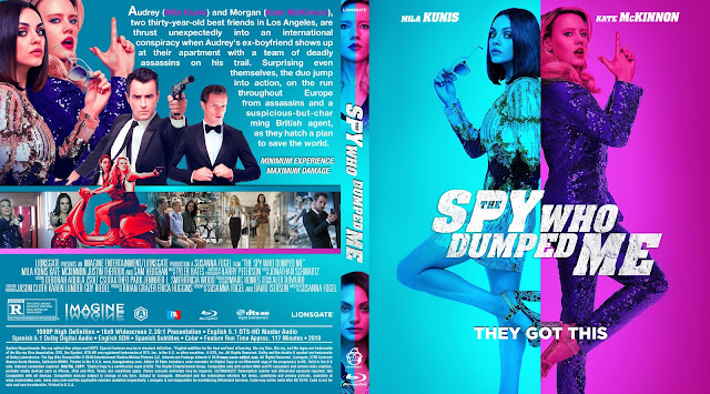 The Spy Who Dumped Me Bluray