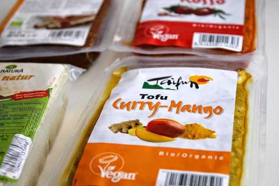 Curry-Mango Tofu