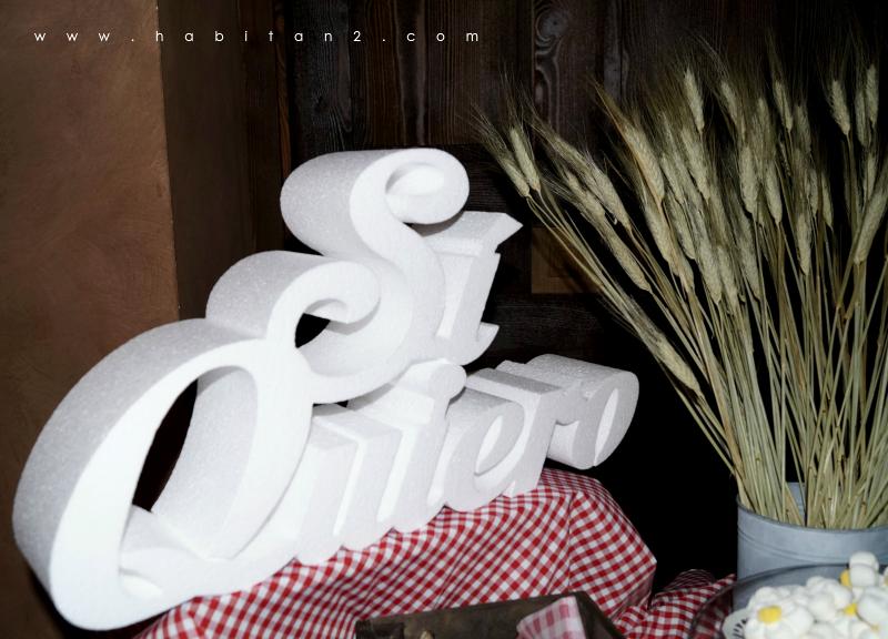 La boda de A&H diseño de Habitan2 eventos | Eventos personalizados y únicos con toque handmade | Decoración handmade para hogar y eventos | Boda de estilo rústico-vintage