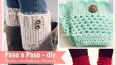 Cómo tejer calentadores o Polainas al Crochet - DIY