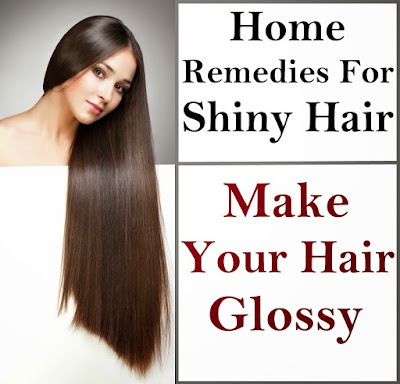 Home Remedies for Shiny Hairs