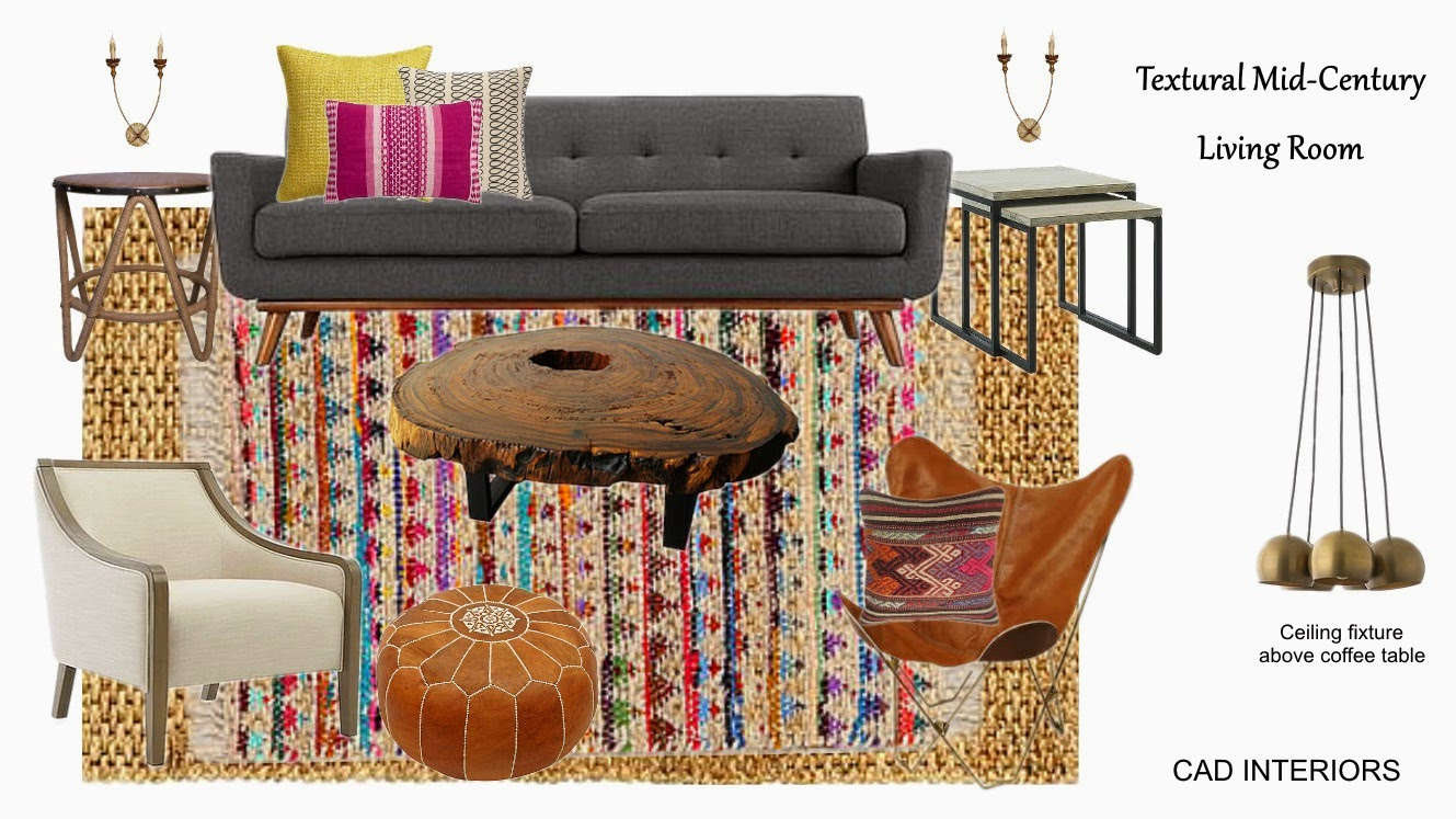 interior design decorating transitional boho chic e-design