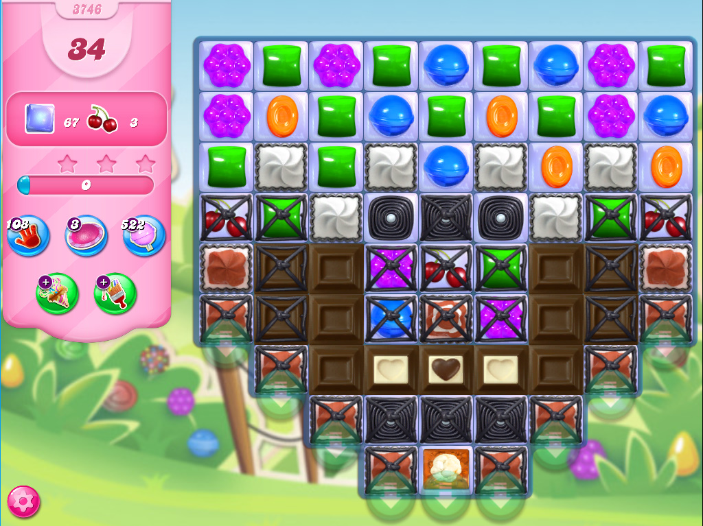 Candy Crush Saga level 3746