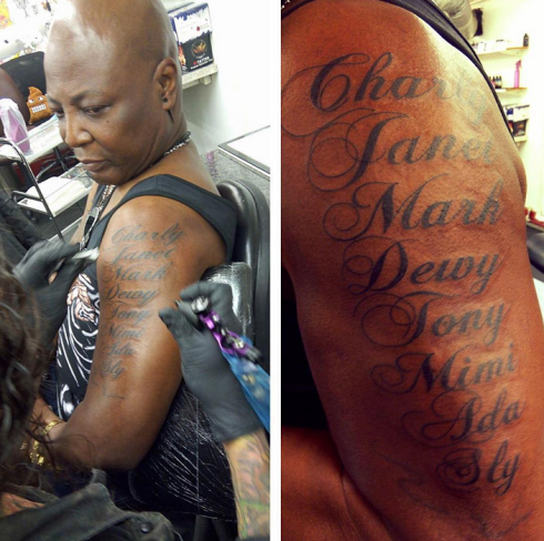 Charly Boy'No Tattoo on my genitalia'
