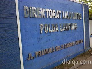 Dirlantas Polda Lampung
