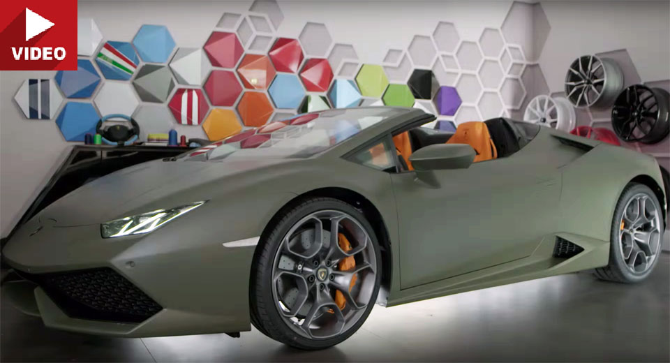 Lamborghini Ad Personam Made This Huracan Spyder Look Like A Jeep