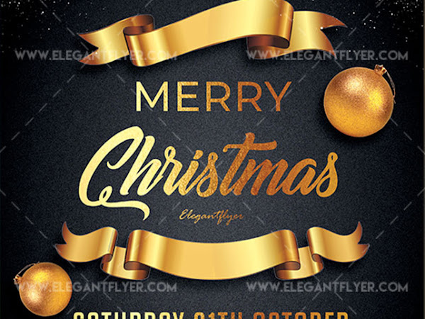 Download Merry Christmas – Flyer PSD Template Free
