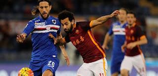 ملخص لمسات محمد صلاح فى مباراة روما وسامبدوريا HD الدوري الإيطالي