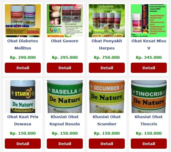 Agen Resmi Obat Herbal De Nature Indonesia