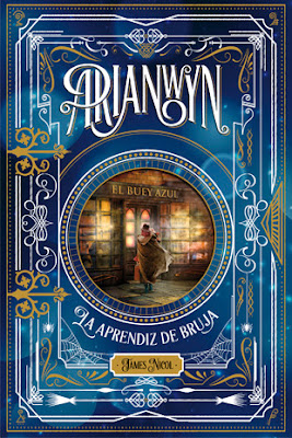 Portada Arianwyn la aprendiz de bruja