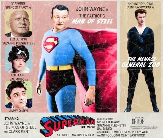 John Wayne Is Superman