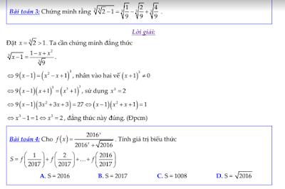 Chinh phục chuyên đề hàm số lũy thừa , mũ  và logarit