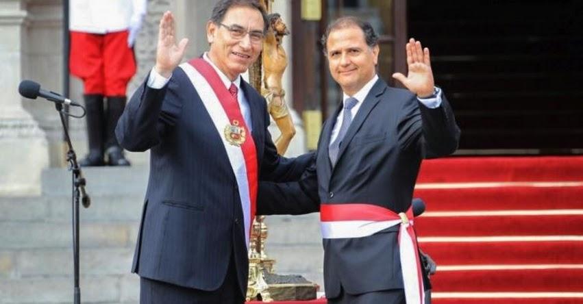 MINEN: Francisco Atilio Ismodes Mezzano juramentó como nuevo Ministro de Energía y Minas (2 Abril 2018) www.minem.gob.pe
