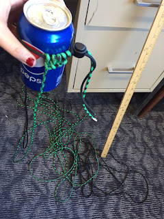 paracord can coozie