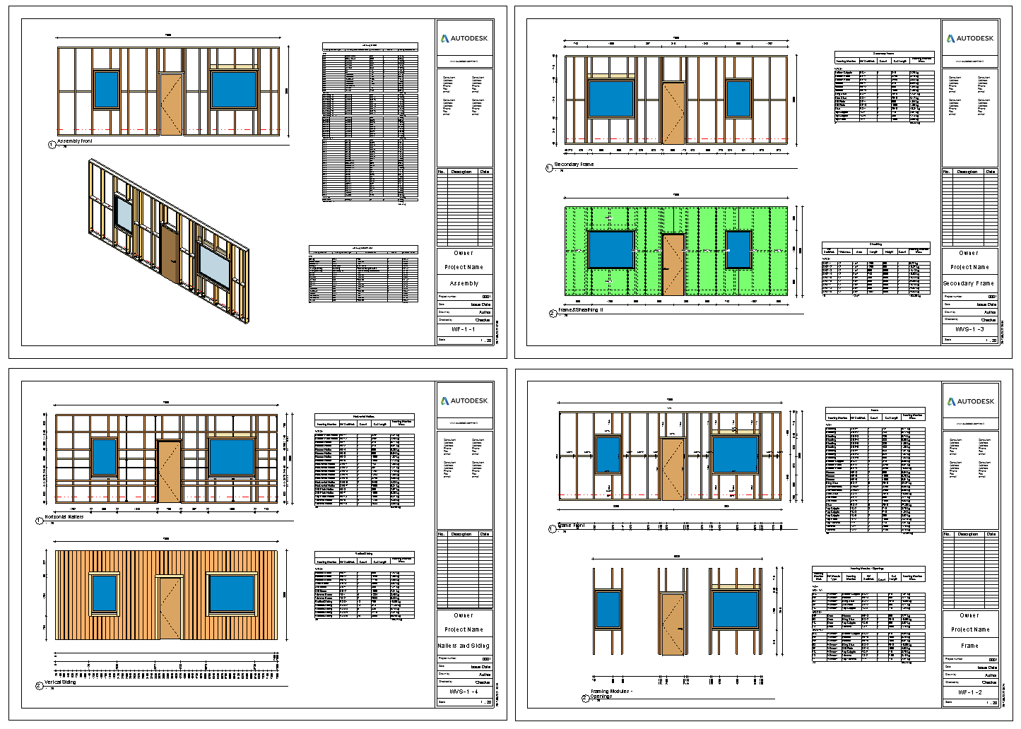 Revit Add-Ons: Template Projects Now Available in AGACAD Framing ...