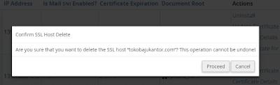Cara Mudah Menghapus SSL di cPanel