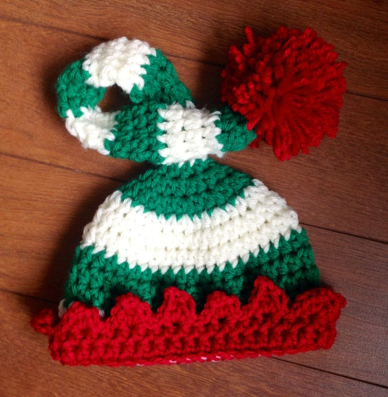 The Dainty Daisy Preemie Newborn Elf Hat