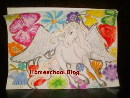 Zeichnung, Homeschool Blog, Bernice, Jan Zieba