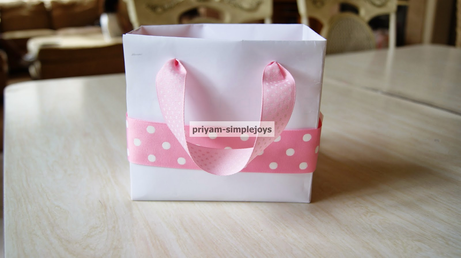 SimpleJoys: Gift/Favor Bags.