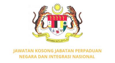 Jawatan Kosong JPNIN 2019 Jabatan Perpaduan Negara dan Integrasi Nasional