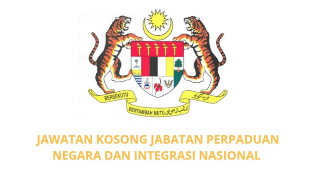 Jawatan Kosong JPNIN 2021 Jabatan Perpaduan Negara dan Integrasi Nasional
